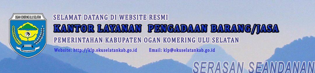 Portal Resmi Kantor Layanan Pengadaan Pemerintah Kabupaten OKU Selatan